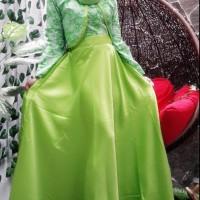Hijab Batik/ Long Dress Batik Clarisa  Murah