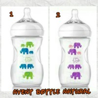 Avent Bottle Natural Elephant 260ml  / Botol Natur