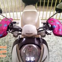 SARUNG TANGAN MOTOR ANTI PANAS PINK