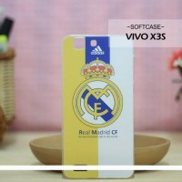Casing HP Softcase VIVO X3S Real Madrid CF Custom