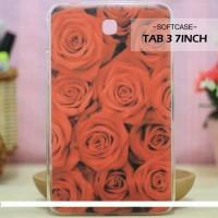 Casing HP Softcase Samsung Tab 3 7inch Roses Custom