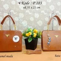 harga P183 Tas Wanita Chanel, Gues, Dior, LV, Tods, Prada, MK, Valentino Tokopedia.com