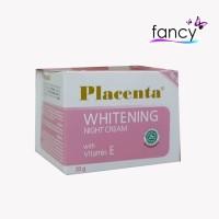 Placenta Whitening Night Cream 20gr (with Vit. E)