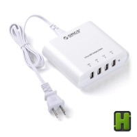 harga Orico Charger Usb | Wall Travel Hub 4 Port Charging | 1a & 2.1a Output Tokopedia.com