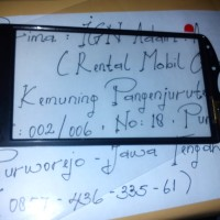 Touchscreen Sony Ericsson Xperia Pro (MK16i/MK16a)