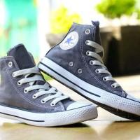 Sepatu Converse All Star Hi Grey Made In Vietnam Original Murah# 161