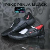 SEPATU NIKE NINJA BLACK #MURAH