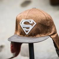 Jual EXCLUSIVE WINTER CAPS SUPERMAN LOGO GOLD Murah