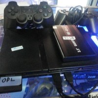 PS2 Slim HD Hardisk eksternal 40GB isi FULLGame banyak