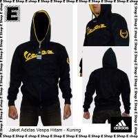 harga Jaket Adidas Vespa Hitam Kuning Tokopedia.com