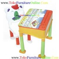 harga Meja Belajar Anak plastik sudah termasuk kursi Tokopedia.com