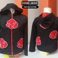 harga Jaket Anime Naruto Versi Akatsuki,hoodie Tokopedia.com