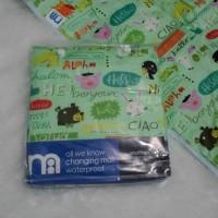 Perlak bayi mothercare motif Hello / changing mat waterproof