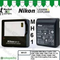 Charger Nikon MH-61 for EN-EL5 (CoolPix 3700/4200/5200/5900/7900/P100)