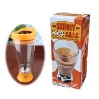 Jual Self Stirring Mug Skinny Moo Murah
