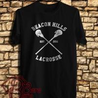 Beacon Hills Lacrosse Logo 2nd Kaos | Tshirt | Distro