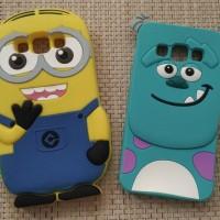 Samsung Galaxy A3 Minion & Sulley (monster Inc) Silicon Case