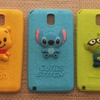 Samsung Galaxy Note 3 Disney Cartoon 3d Case (stitch, winnie the pooh)
