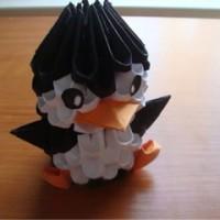 harga 3D Origami Penguin Tokopedia.com