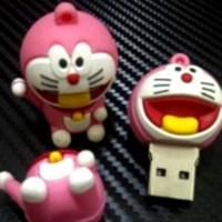 Jual FLASHDISK UNIK DORAEMON PINK - BUS0125 - 4GB BONEKA KARAKTER LUCU Murah