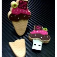 harga Flashdisk Unik Ice Cream Cone Strawberry - Bus0440 - 32gb Boneka Karak Tokopedia.com