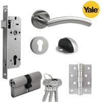 Paket set Promo kunci pintu handle Yale YTL 010 door lock berkualitas
