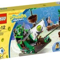 LEGO 3817 SPONGEBOB SQUAREPANTS the Flying Dutchman