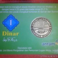Koin Dinar Emas Antam 4.25 gram 22 Karat Bergaransi Buyback