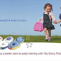 MY CARRY POTTY SOLID BLUE
