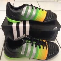 sepatu futsal anak adidas nitrocharge 3.0 hitam original