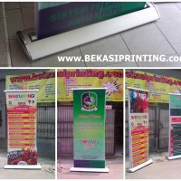 80 x 200 Roll Banner Elektrik / Electric Moving Up