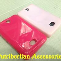 Nokia Asha N 501 Soft Case Silicon Glossy Cover / Soft Jacket N501