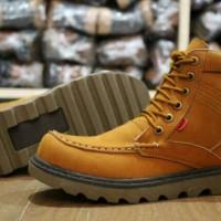 Sepatu Boot Kickers Rajut Kulit buk 100&