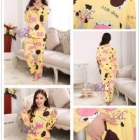 K2039 MOO BROWN - Sleepwear Import   Supplier   Murah   Grosir   Sale