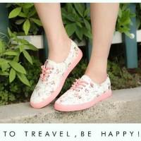 harga Ddn04 Sepatu Sneakers Wedges Ankle Boots Kets Casual Wanita Dance Kece Tokopedia.com