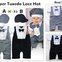 harga Romper Tuxedo Lace Hat Tokopedia.com