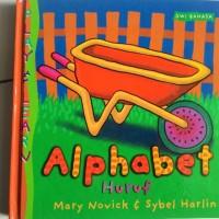 "buku pengetahuan anak pengenalan huruf SERI PLAY AND LEARN "" ALPHABET"""