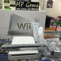 Wii (Black/White) Recondition +HDD 500gb Full Games