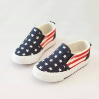 harga Sepatu Anak Kets Bendera (big Size) Tokopedia.com