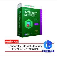 Antivirus Kaspersky Internet Security 2016 | 3PC - 1 Tahun - Original