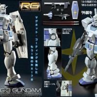 RG 1/144 RX-78-3 G3 Gundam P-Bandai Limited