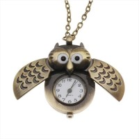 harga Pocket Watch Pendant / Jam Saku Owl Wing Tokopedia.com