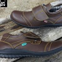 harga Sepatu Casual Pria Kickers Prepet Leather Brown Tokopedia.com
