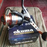 harga Saltwater Spining Reels OKUMA RAW II 65 Tokopedia.com