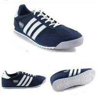 Sepatu Adidas Dragon Biru Tua putih Cowok untuk sekolah kets murah