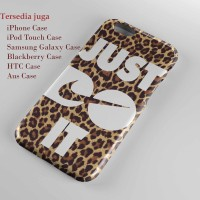 just do it nike leopard Hard case Iphone case dan semua hp