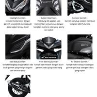 Paket Aksesoris Resmi Honda Vario 125 & 150 eSP - SILVER - 7 ITEM