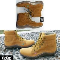 Sepatu Kickers Boot Suide 5 aw Warna
