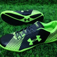 Sepatu Futsal Under Armour Hitam Hijau