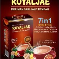 Royaljae Minuman Hangat dari Sari Jahe Rempah